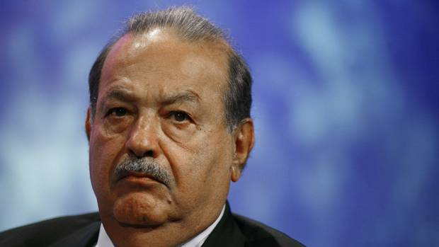 No. 1 - Carlos Slim, Mexican tycoon. Net worth: $73-billion (ALLISON JOYCE/ALLISON JOYCE/REUTERS)