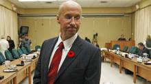 Parliamentary budget officer Kevin Page waits to testify before the House Commons finance committee on Tuesday, November 3, 2009. (CHRIS WATTIE)