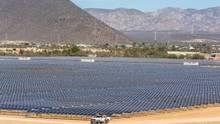 Aura Solar 1 solar park supplies 65 per cent of energy needs to the city of La Paz, Mexico. (Gauss Energia)