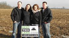 Ms. Veurink, along with her husband Kevin, and his brother and sister, who themselves run a farm that's partially on rented land, saw an opportunity. The service they've developed – and which got funded as a winner on the CBC's Dragons' Den – is a land-rental marketplace called RentThisLand.com, and let buyers and sellers find a price, without throwing them into an open auction.