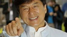 "Jackie Chan poses during a photo call for his film ""Chinese Zodiac"" at the Cannes Film Festival on May 18, 2012. (Francois Mori/AP)"