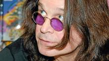 Ozzy Osbourne signs copies of his autobiography in Las Vegas, Feb. 18, 2010. (Ethan Miller/2010 Getty Images)